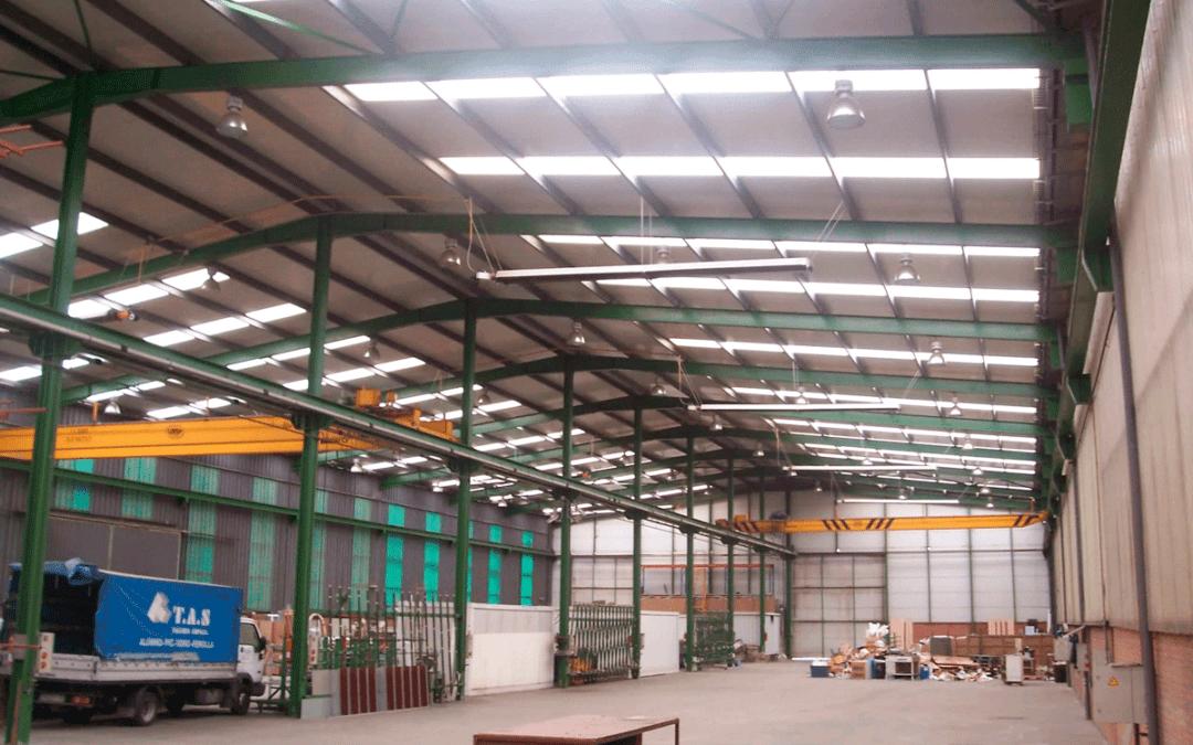 Alquiler Conjunto Naves Industriales con Puentes Grúa. Polígono Silvota – Llanera