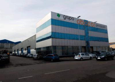 Edificio Oficinas. Polígono Espíritu Santo - Oviedo. Parking