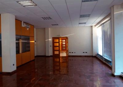 Edificio Oficinas. Polígono Espíritu Santo - Oviedo. Planta Baja