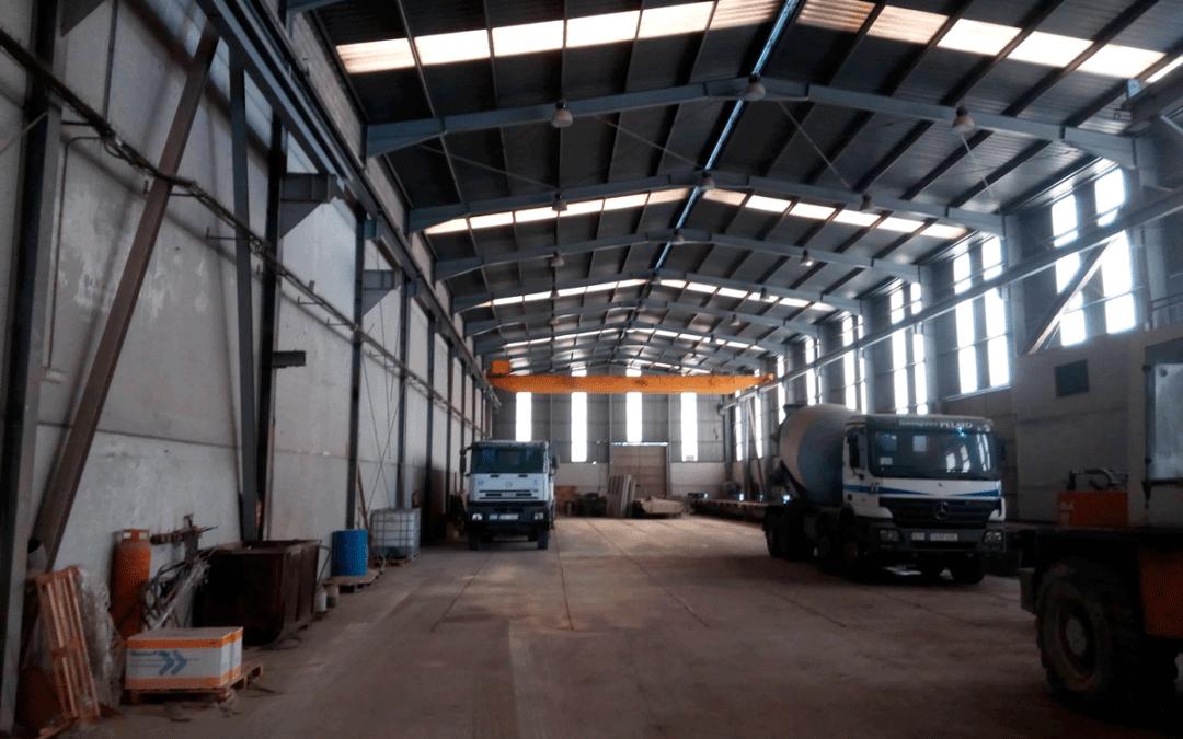 Venta Nave Industrial con Puentes Grúa. Polígono Somonte – Gijón