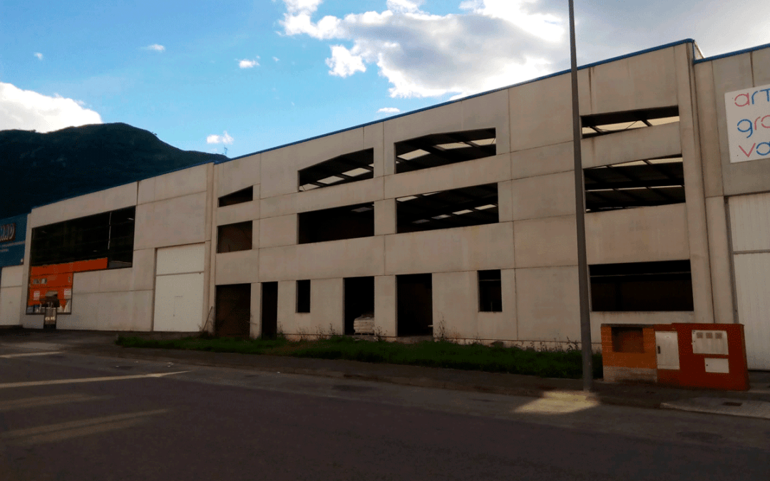 Venta Nave Industrial 720 – Polígono Argame – Morcín