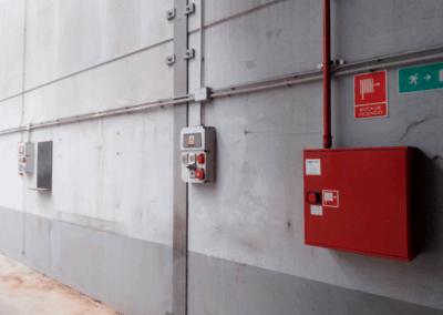 Nave y Oficinas Polígono Asipo - Llanera. Sistema Antincendios