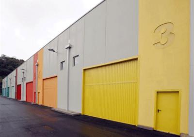 Naves Cámara Comercio Oviedo. Fachada