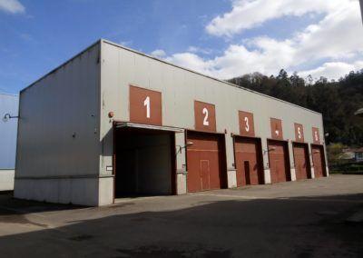 Naves Vivero Empresas Olloniego - Oviedo. Fase I. Nave 1