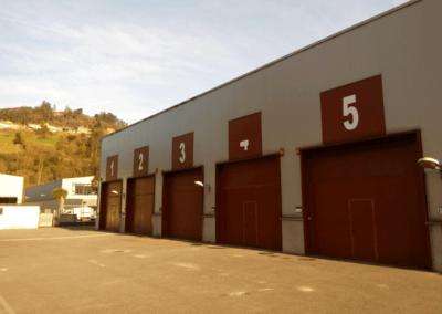 Naves Vivero Empresas Olloniego - Oviedo. Fase I. Vista General II