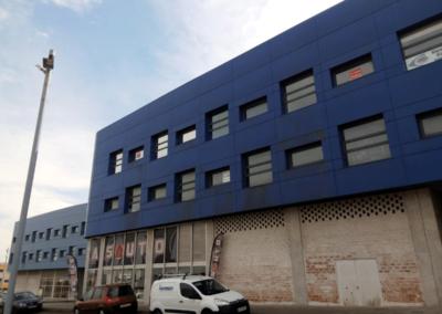 Oficinas Entidad Financiera - Parque Empresarial Asipo 2 - Llanera. Fachada.