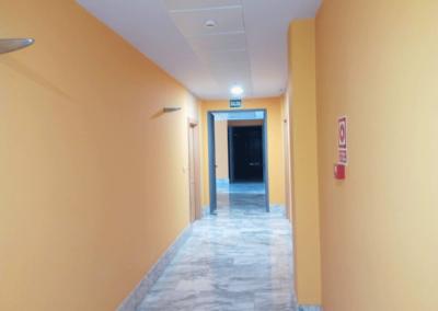 Oficinas Entidad Financiera - Parque Empresarial Asipo 2 - Llanera. Pasillo.