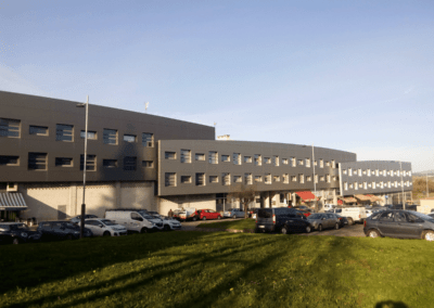 Oficinas Parque Empresarial Asipo I - Llanera. Vista Conjunto