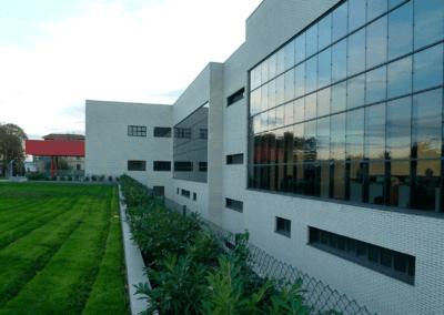 Edificio FLC Gijón - Vista Cristalera