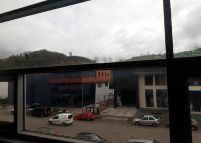 Oficinas Polígono Argame - Vista desde dentro