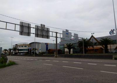 Parcela Polígono Porceyo - Gijón. Acceso Autovia desde Parcela