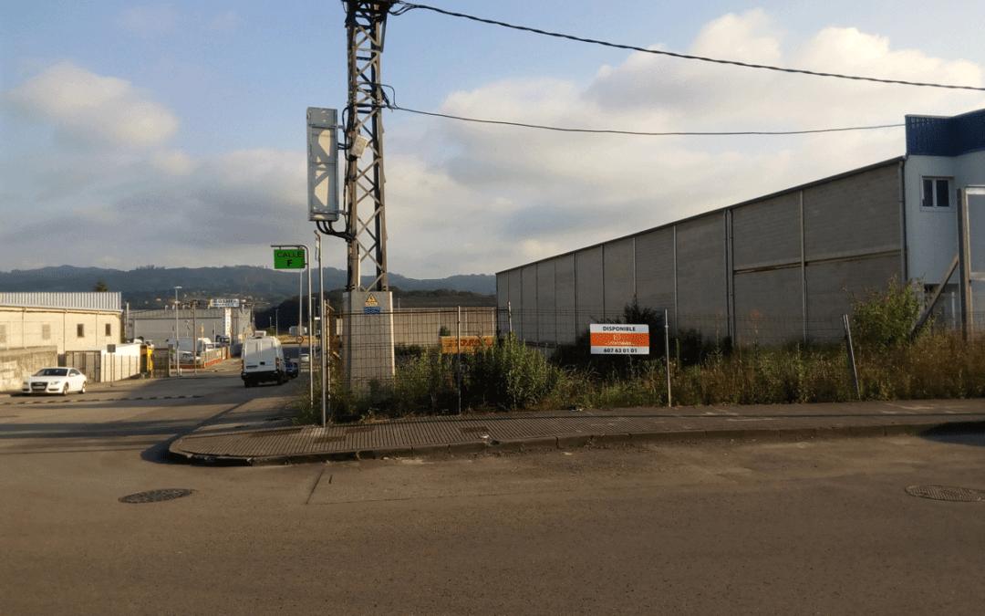 Venta Parcela Industrial. Polígono Proni – Meres – Siero