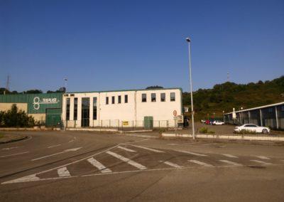 Nave Polígono Somonte - Gijón. Vista general.