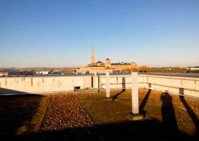 Edificio Oficinas Parque Tecnológico - Gijón. Vista desde terraza
