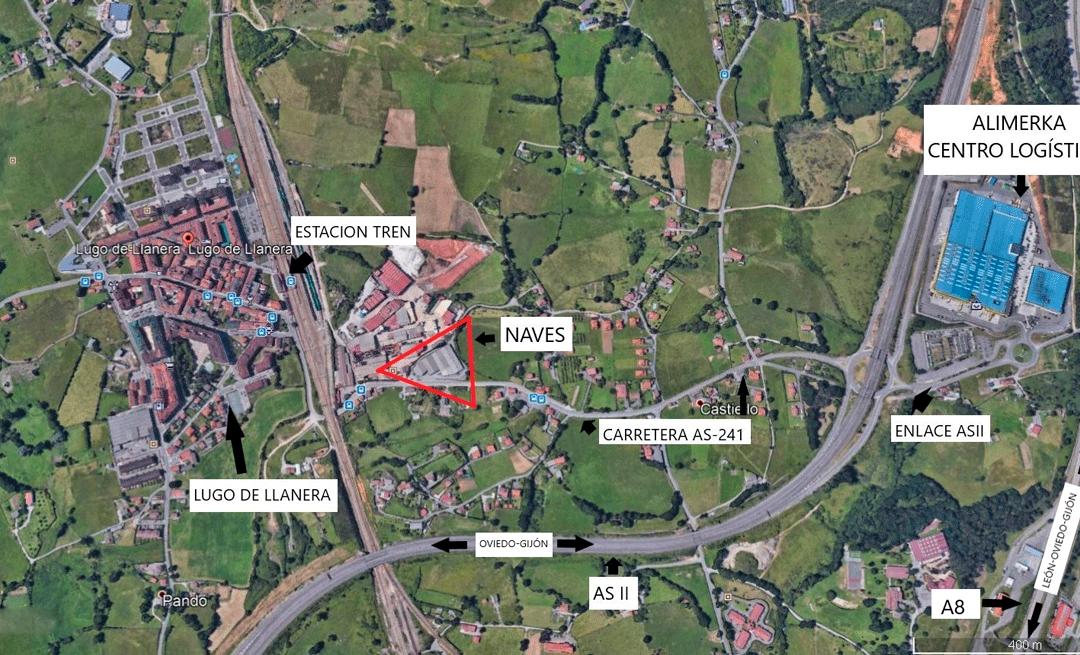 Construcción Nave Logística «llave en mano» para Alquiler largo plazo. Lugo Llanera – Centro Asturias