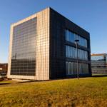 Oficinas Parque Tecnológico - Gijón. Fachada trasera