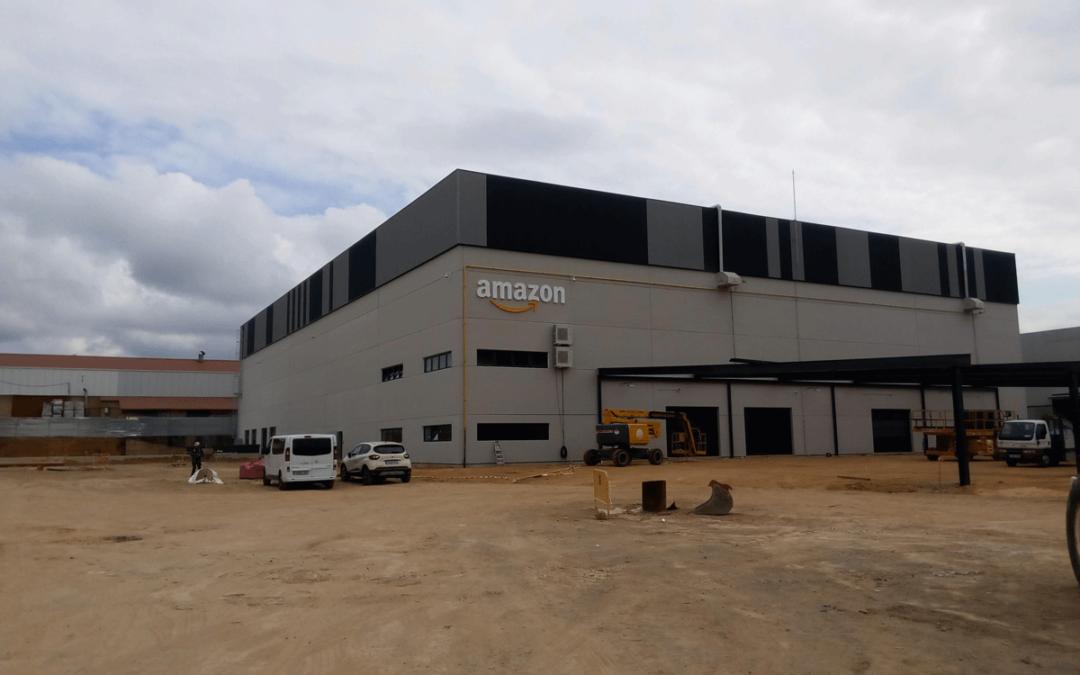 El Conjunto Naves Logísticas Meres – Siero va tomando forma con la apertura de AMAZON