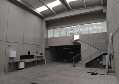 Nave 10 - Vivero Empresas - Olloniego. Vista Interior 2