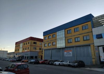 Naves y Oficinas Polígono Espíritu Santo - Oviedo. Vista Fachadas