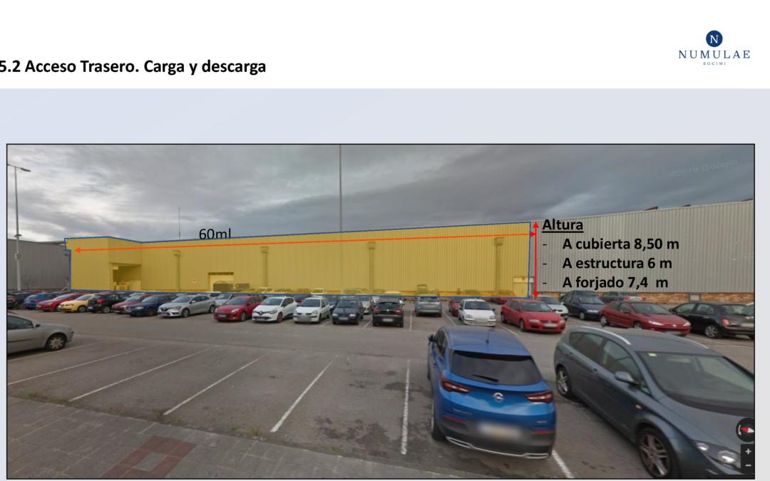 Alquiler Nave en Centro Comercial PARQUEASTUR – Corvera