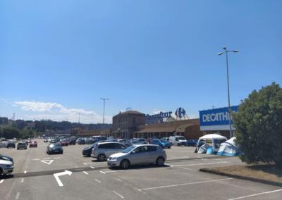 Nave Comercial - Logística - Parqueastur - Corvera. Vista Parking delantero - 3