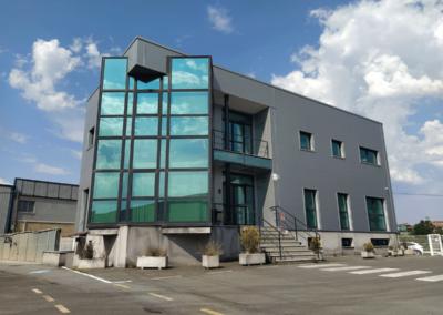 Nave y Campa - Viella - Siero. Edificio Oficinas
