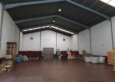 Nave Polígono Granda - Siero. Vista Interior 2
