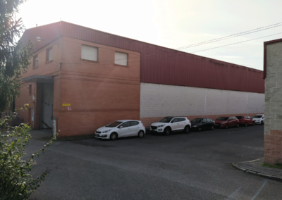 Nave Polígono San Claudio - Oviedo. Vista Fachada 2