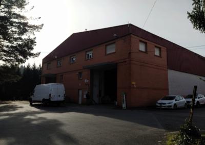Nave Polígono San Claudio - Oviedo. Vista Zona Maniobras