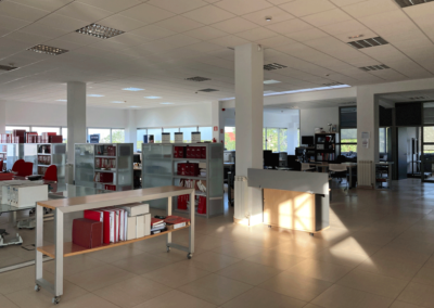 Edificio Parque Tecnológico Asturias - Llanera. Vista Oficinas